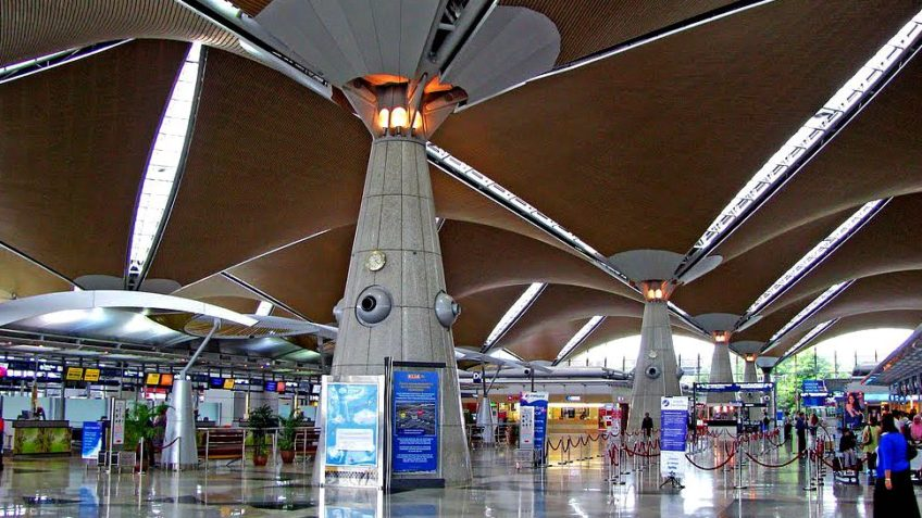 The Immigration at(KLIA), Have a Beautiful Journey