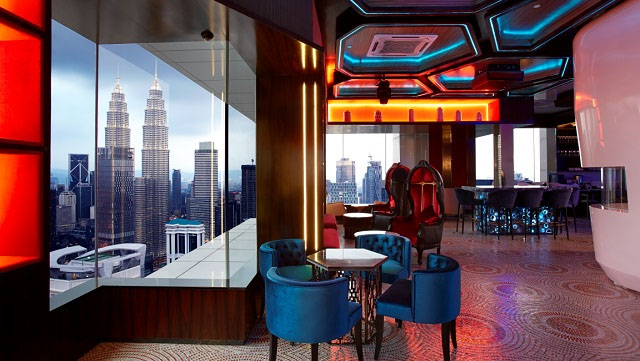 DEEP BLUE, one of the best rooftops in KL