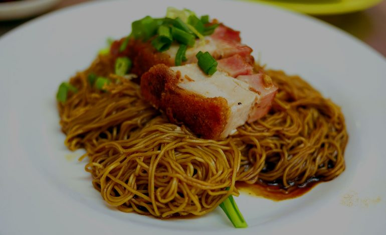 Wantan Mee, a delectable dish & startling taste