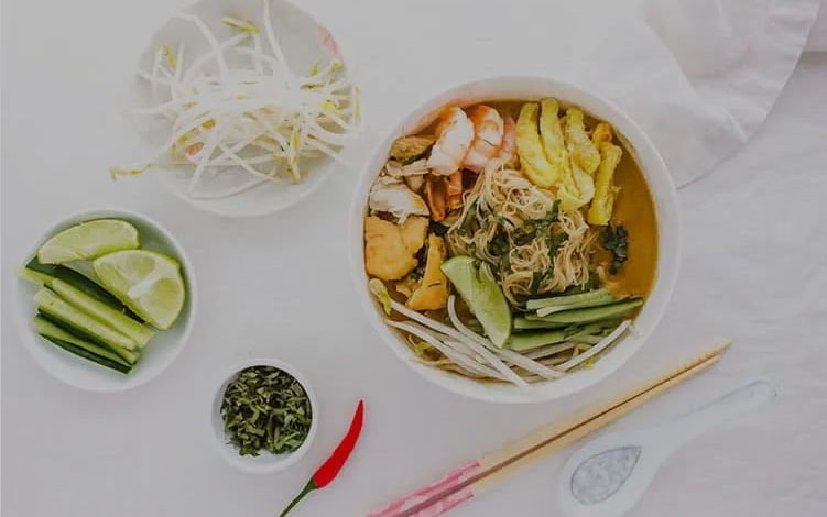 Sarawak laksa, it is a dish that you need to try
