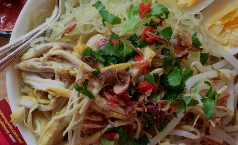 Soto Noodles, It's really astounding in rainy days